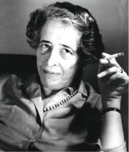 Hannah Arendt © Käte Fuerst, Ramat Ha-Sharon, Israel