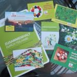 Flyer und Postkarten