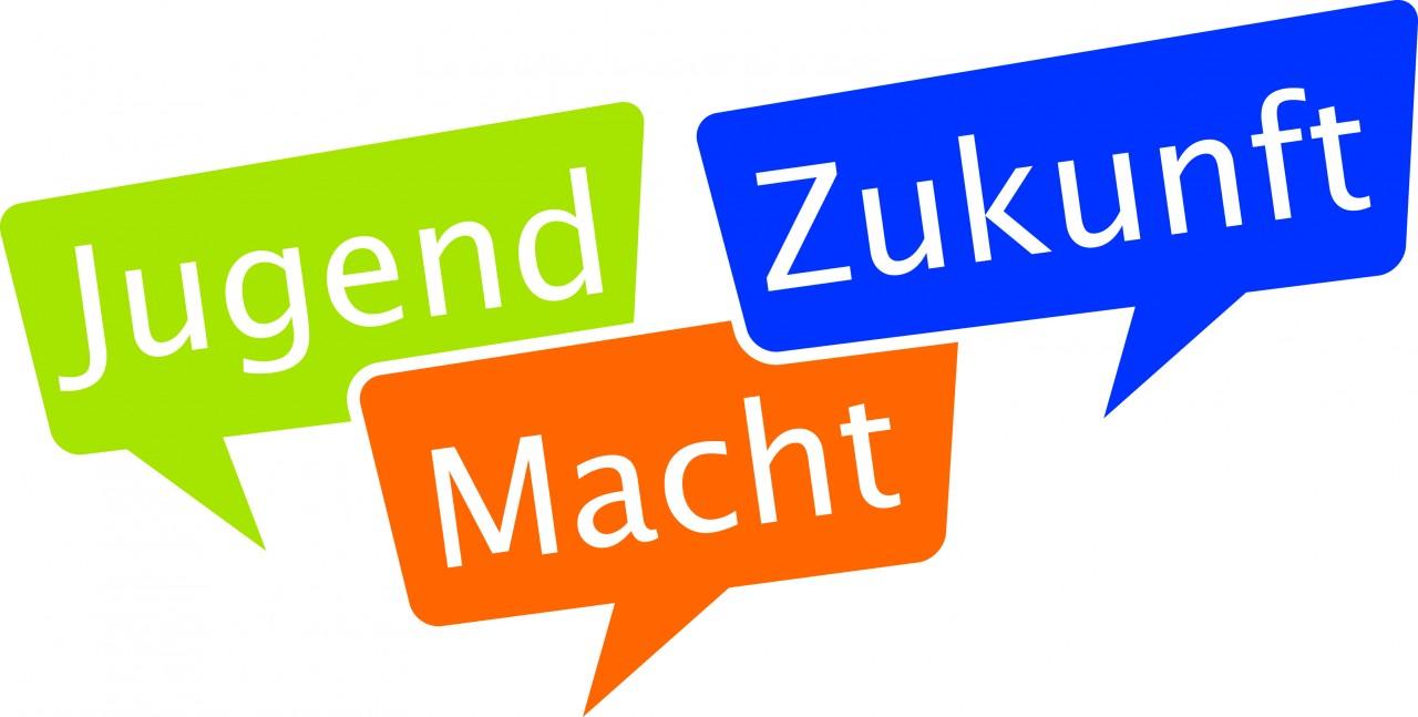 """Logo """"Jugend Macht Zukunft"""""""